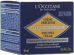 Парфюми, Парфюмерия, козметика Дневен крем против бръчки - L'Occitane Immortelle Precious Protection SPF 20