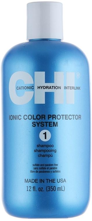 Шампоан за коса без сулфати - CHI Ionic Color Protect Shampoo — снимка N1