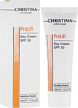 Парфюми, Парфюмерия, козметика Дневен подмладяващ крем за лице - Christina Clinical Prolift Day Cream SPF 30