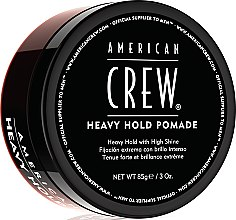 Парфюмерия и Козметика Помада за оформяне на косата - American Crew Heavy Hold Pomade
