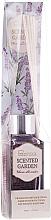 Парфюмерия и Козметика Арома дифузер - IDC Institute Scented Garden Warm Lavender Stick Fragrance Diffuser