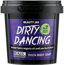 """Парфюмерия и Козметика Гъст сапун за тяло с хвойна и морски зърнастец """"Dirty Dance"""" - Beauty Jar Thick Body Soap"""