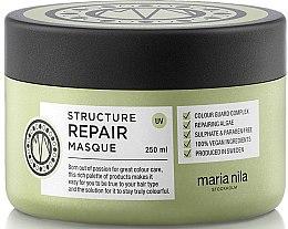 Парфюмерия и Козметика Маска за суха и увредена коса - Maria Nila Structure Repair Masque