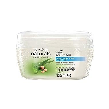 Маска за коса с екстракт от алое и макадамия - Avon Naturals — снимка N1