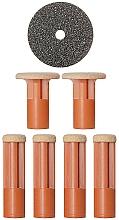 Парфюмерия и Козметика Сменяеми дискове за загрубяла кожа, Orange - PMD Beauty
