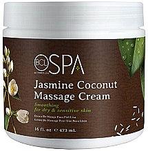 """Парфюми, Парфюмерия, козметика Масажен крем """"Жасмин и кокос"""" - BCL Spa Jasmine Coconut Massage Cream"""