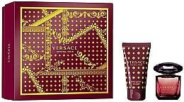 Парфюми, Парфюмерия, козметика Versace Crystal Noir - Комплект (edt/30ml + b/lot/50ml)