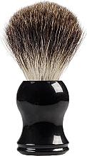 Парфюмерия и Козметика Четка за бръснене, черна - Inter-Vion