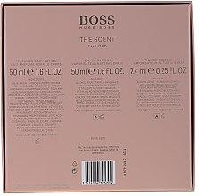 Hugo Boss The Scent For Her - Комплект (парф. вода/50ml + парф. вода/7.4ml + лосион за тяло/50ml) — снимка N6