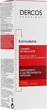 Тонизиращ шампоан с аминокиселини против косопад - Vichy Dercos Energising Shampoo — снимка N2
