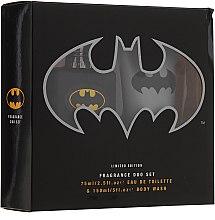 Парфюмерия и Козметика DC Comics Batman - Комплект (edt/75ml + sh/gel/150ml)