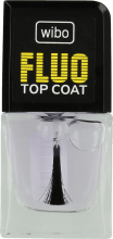 Парфюми, Парфюмерия, козметика Топ лак - Wibo Fluo Top Coat
