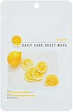 Парфюмерия и Козметика Възстановяваща маска за лице с витамин B5 - Eunyu Daily Care Sheet Mask Vitamin