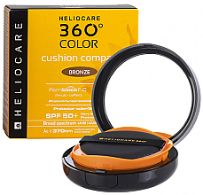 Парфюмерия и Козметика Компактна слънцезащитна пудра за лице - Cantabria Labs Heliocare 360º Color Cushion Compact Pearl