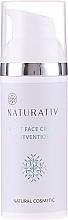 Парфюмерия и Козметика Нощен крем за лице - Naturativ Facial Night Cream 30+