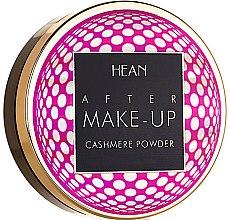 Парфюмерия и Козметика Компактна пудра за лице - Hean After Makeup-up Cashmere Compact Powder