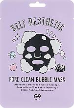 Парфюмерия и Козметика Маска за лице на мехурчета - G9Skin Self Aesthetic Poreclean Bubble Mask