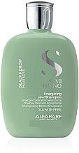 Парфюмерия и Козметика Възстановяващ и укрепващ шампоан за коса - Alfaparf Semi Di Lino Scalp Renew Energizing Low Shampoo