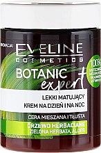 Парфюмерия и Козметика Крем за лице със зелен чай, чаено дърво и алое вера - Eveline Cosmetics Botanic Expert With Tea Tree Day & Night Cream