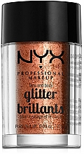 Парфюмерия и Козметика Брокат за лице и тяло - NYX Professional Makeup Face & Body Glitter
