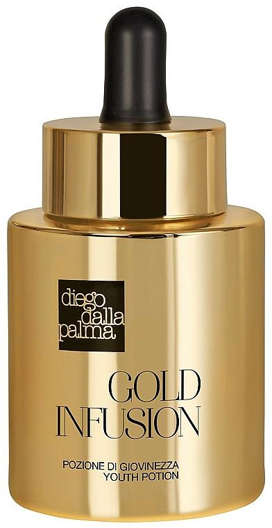 Подмладяващ серум за лице с екстракт от чисто злато - Diego Dalla Palma Gold Infusion