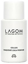 Парфюмерия и Козметика Пудра с центела азиатика - Lagom Cellus Sensitive CICA Powder