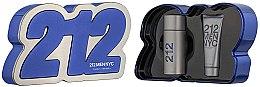 Парфюми, Парфюмерия, козметика Carolina Herrera 212 Men NYC - Комплект (тоал. вода/100ml + душ гел/100ml)