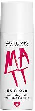 Парфюмерия и Козметика Матиращ флуид за лице - Artemis of Switzerland Skinlove Mattifying Fluid