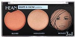 Парфюмерия и Козметика Палитра за контуриране - Hean Shape & Glow Palette