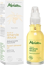 Парфюмерия и Козметика Масло от сладък бадем за лице - Melvita Huiles De Beaute Sweet Almond Oil