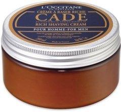 """Крем за бръснене """"Хвойна"""" - L'Occitane Cade Shaving Cream Men — снимка N4"""