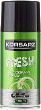 Парфюми, Парфюмерия, козметика Дезодорант спрей - Pharma CF Korsarz Fresh Deodorant