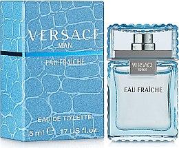 Парфюми, Парфюмерия, козметика Versace Man Eau Fraiche - Тоалетна вода ( мини )