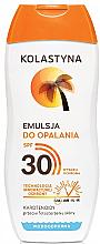 Парфюмерия и Козметика Слънцезащитна емулсия - Kolastyna Suncare Emulsion SPF 30