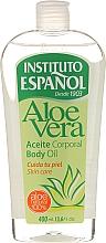 Парфюмерия и Козметика Масло за тяло с екстракт от алое вера - Instituto Espanol Aloe Vera Body Oil