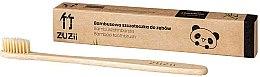 Парфюми, Парфюмерия, козметика Бамбукова четка за зъби с меки бежови косъмчета - Zuzii Soft Toothbrush