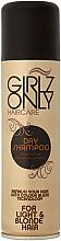 Парфюми, Парфюмерия, козметика Сух шампоан за светла коса - Girlz Hair Care Only Dry Shampoo Blonde Hair