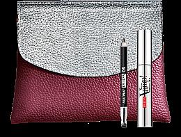 Парфюми, Парфюмерия, козметика Комплект - Pupa VAMP! Mascara Extreme & Multiplay (спирала за мигли/9мл.+молив за очи+козм. чанта)