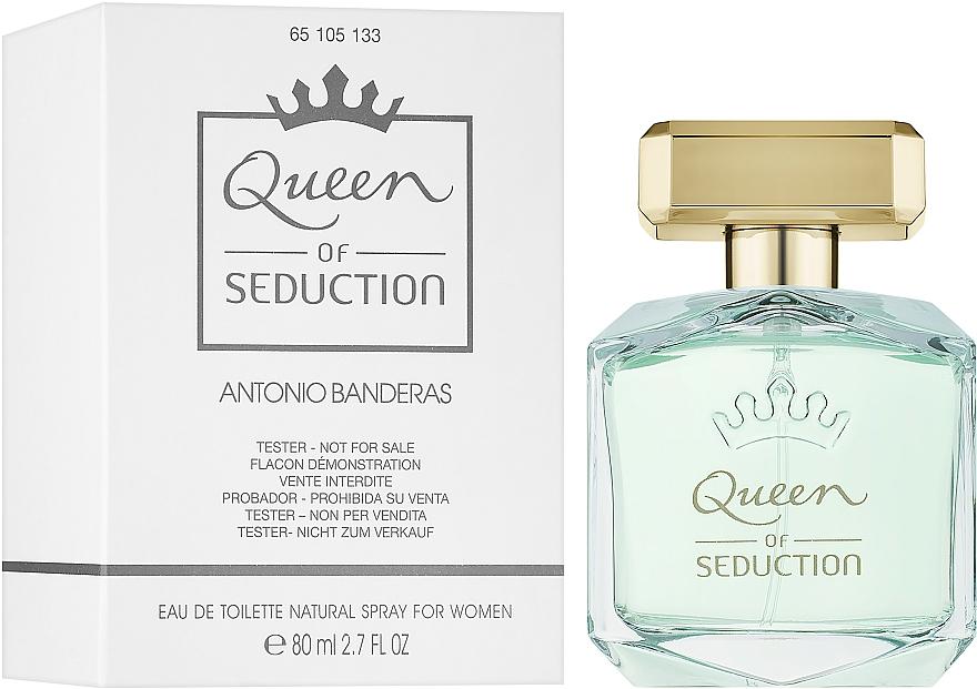 Antonio Banderas Queen of Seduction - Тоалетна вода (тестер c капачка)  — снимка N2