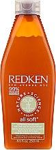 Парфюмерия и Козметика Омекотяващ балсам за коса - Redken Nature + Science All Soft Softening Conditioner