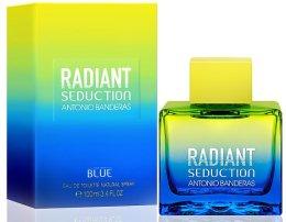 Парфюми, Парфюмерия, козметика Antonio Banderas Radiant Seduction Blue For Men - Тоалетна вода