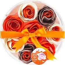 """Парфюмерия и Козметика Конфети за вана """"Портокал"""", 8 бр. - Spa Moments Bath Confetti Orange"""
