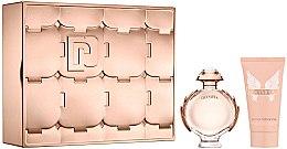 Парфюми, Парфюмерия, козметика Paco Rabanne Olympea - Комплект (парф. вода/50ml + лосион за тяло/75ml)