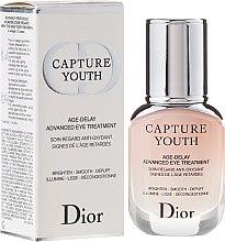 Парфюми, Парфюмерия, козметика Грижа за околоочния контур - Christian Dior Capture Youth Age-Delay Advanced Eye Treatment