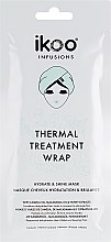"""Парфюмерия и Козметика Термална шапка-маска за коса """"Хидратиране и блясък"""" - Ikoo Infusions Thermal Treatment Wrap"""