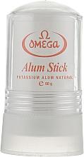 Парфюмерия и Козметика Натурална стипца, 49001 - Omega Alum Stick