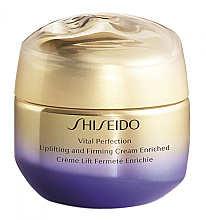Парфюмерия и Козметика Стягащ и укрепващ крем - Shiseido Vital Perfection Uplifting & Firming Cream Enriched