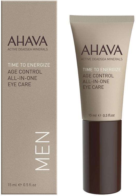 Околоочен крем - Ahava Time To Energize Age Control All In One Eye Care — снимка N1