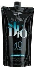 Парфюми, Парфюмерия, козметика Подхранващ кремообразен проявител за изсветляване на косата 12% - L'Oreal Professionnel Blond Studio Creamy Nutri-Developer Vol.40