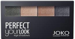 Парфюмерия и Козметика Палитра сенки за очи - Joko Perfect Your Look Quattro Eye Shadows New